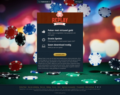 Replay Poker